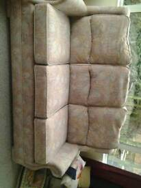 Armchair couch set