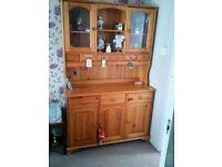 Pine Dresser & Side Unit