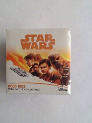 Star Wars Han Solo Collectible Lucky Dice