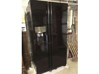 **FLASH SALE Samsung RS7527BHCBC American Style Fridge Freezer Gloss Black with water tap