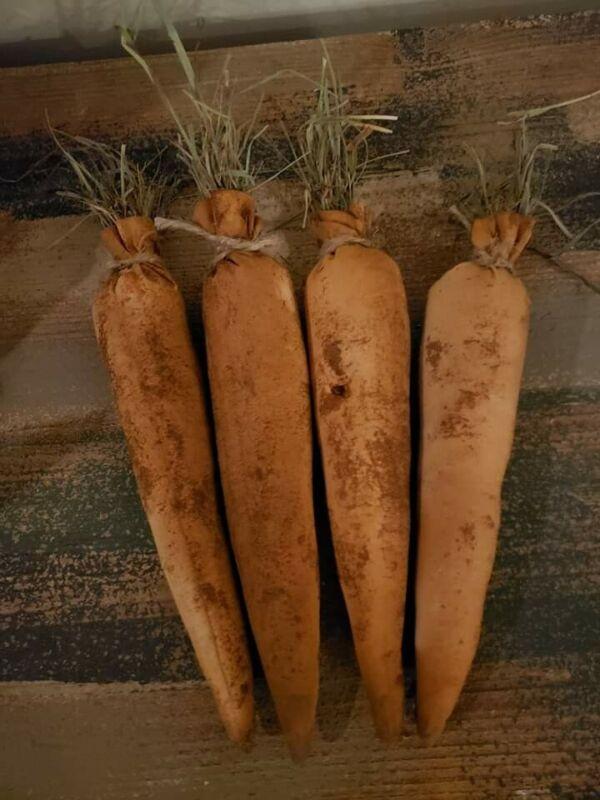 Grubby Carrots Spring Easter Handmade bowl fillers Farmhouse