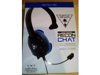 BRAND NEW TURTLE BEACH WIRED HEAD SET FOR PS4