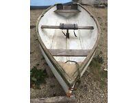 12 ft skiff rowing boat