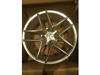 Set of Tsw 17 inch alloy wheels 4x108 (Citroen ,Peugeot)