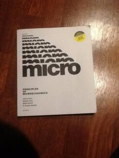 Microeconomics Textbook Spotswood Hobsons Bay Area Preview