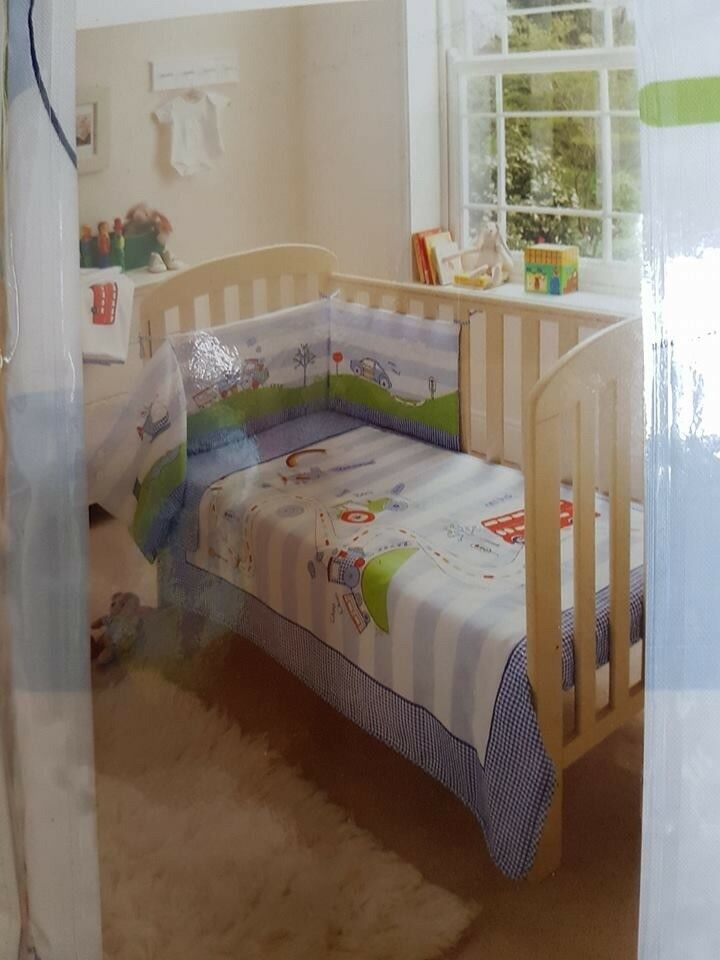 Sainsbury Tu Nursery Cot In A Bag Bedding Set Great For Present Too