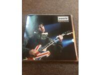 OASIS BLUE VINYL LP VERY RARE ENGLANDS DREAMING GLASTONBURY 1995 VERY RARE MINT CAN POST UK