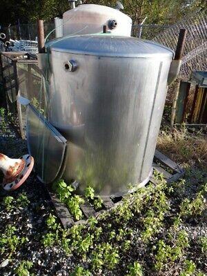 Viatec 320 Gallon Ovc Stainless Steel Food Grade Tank