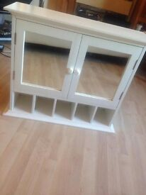 White Next Bathroom Cabinet cupboard large
