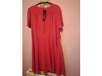 Holly Willoughby Beautiful Brand New Pink Dress (size 18) £15