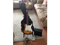 Electric Guitar Starter Bundle