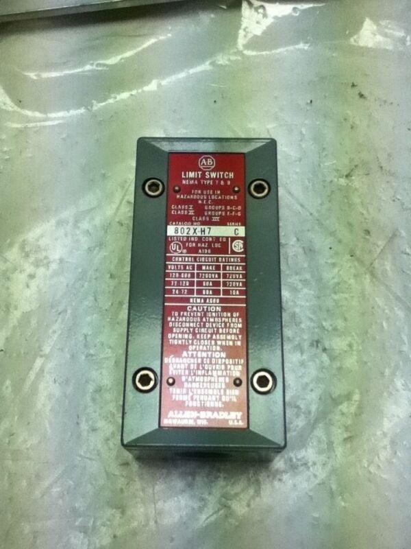 ALLEN-BRADLEY 802X-H7 SERIES C LIMIT SWITCH