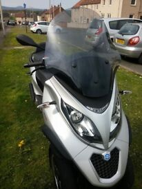 Piaggio MP3 500 Lt Sport Scooter Motorbike in excellent condition