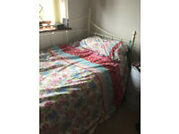 Single cream day bed very good condition. Originally from John Lewis with mattress