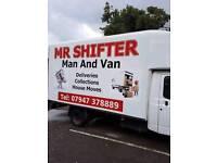Man and van Mr shifter