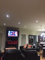 Upgrading light fixtures,TV WALL MOUNT INSTALLATION SERVICES