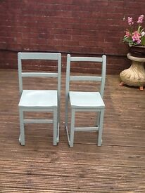 Two vintage children's chairs for sale