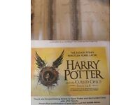 1 x Harry Potter & the Cursed Child Ticket - 22 and 23rd Dec, Row G, Seat 29