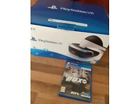 Boxed Playstation VR with 2 Games Like New