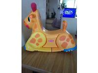 Mega blocks /giraffe rocker