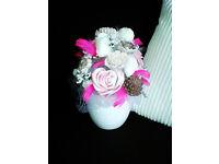 handmade decorative soap bouquets