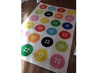 Ikea TASTRUP Rug Carpet,low pile,multicolour,133x195 cm,Designer Rug Carpet