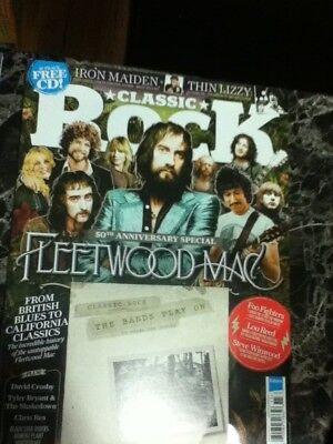 classic rock magazine november 2017 fleetwood mac cover w/cd promo  for sale  Sarnia