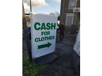 Cash for Clothes Pontarddulais 4 Llanneli, Carmenthen Ammanford areas