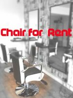 Hair dresser or barber chair for rent