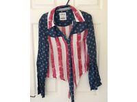 Soul cal Stars and Stripes shirt. Size 10