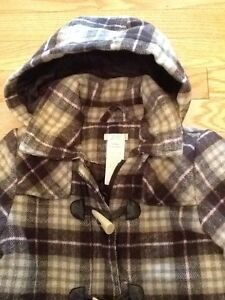 Kids JOE Fresh Wool style jacket with toggle buttons & zipper West Island Greater Montréal image 2