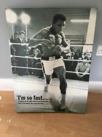 Awesome Mohammad Ali Canvas