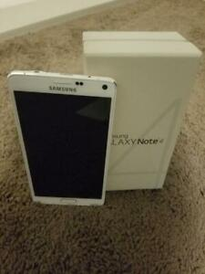Samsung Galaxy Note 3 Note 4 Note 5 CANADIAN MODEL UNLOCKED new condition with 90 Days warranty includes all accessories