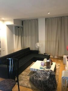 City furnished apartment private room can use as twin share available