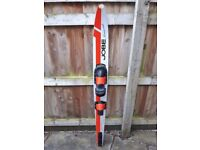 JOBE HONEYCOMB VINTAGE MONO SKI WITH REAR FIN (approx 168cm Long) - Collect Only