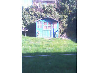 Children's Wendy house needs some repairs buyer to dismantle