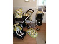 * Cosatto Giggle Travel System in Treet - Everything Included *