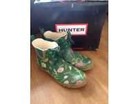 Genuine Hunter RHS wellies - All brand new in box -