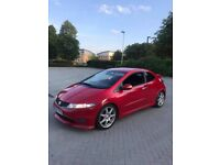 ** 2008 HONDA CIVIC TYPE R FN2 MILANO RED 6 SPEED MANUAL ** SWAPZ OR PX **