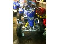 Blaster quad fitted with cr 250 engine