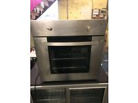proline stainless steel single built in fan assisted oven