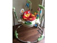 Fisher Price Rainforest Jumperoo, with box