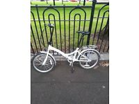 """Easy street"" city folding bike for sale"