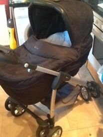 Silver cross Pram with accessories