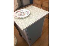 SALE ! Stunning Decoupage Cabinet