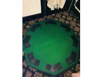 Foldable Poker Table