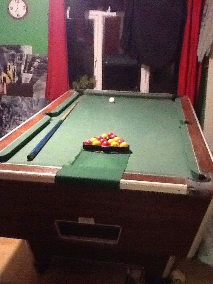 Pub Full Size Pool Table Great Condition Cm Wid And Cm Length - How do you take apart a pool table