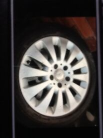 16 inch Mercedes 220 CDI Alloys With Good Tyres For sale