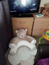 Teddys toy box sit me up play mat