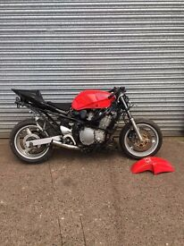 SUZUKI GSX600F 1998 * STREET FIGHTER, PROJECT, CAFE RACER, RUNNING *